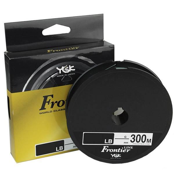 LINHA MONIFILAMENTO YGK FRONTIER - 300 METROS 20 LBS (0,37mm)