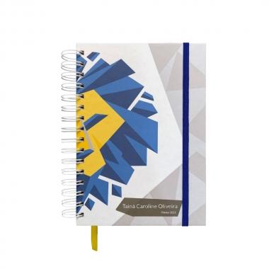 Planner Diário 2021 MyPlan - Selva Fractal