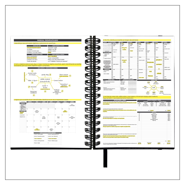 Outlet - Planner Semanal 2021 ou Não Datado - Executivo