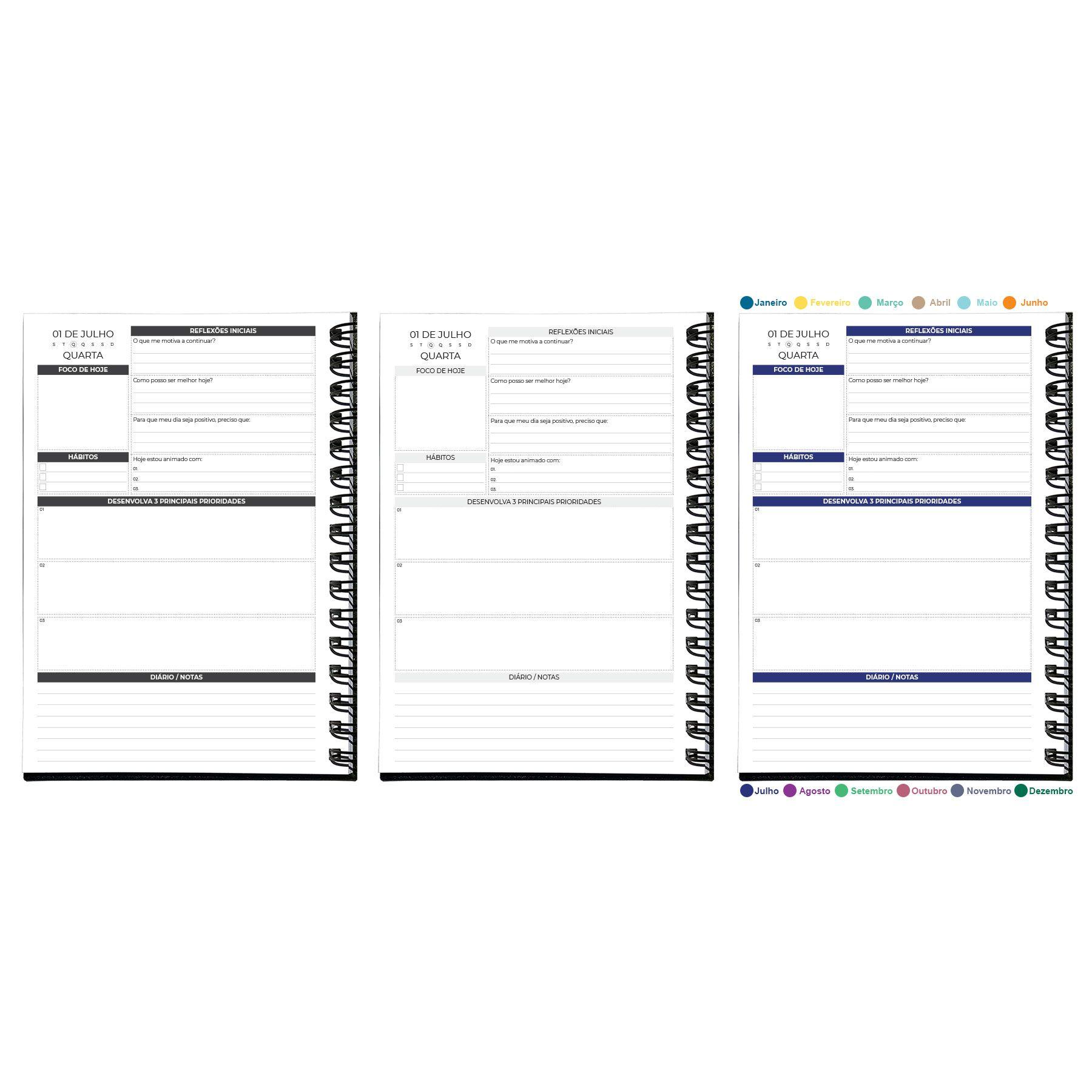 Planner Diário 2020 MyPlan - Executivo
