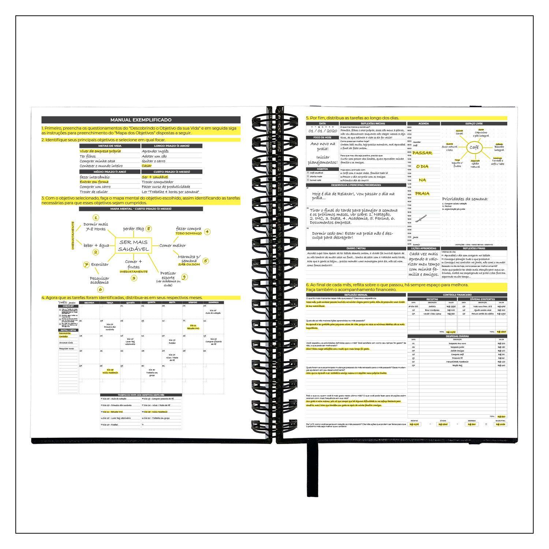 Planner Diário Não Datado Permanente MyPlan - Executivo