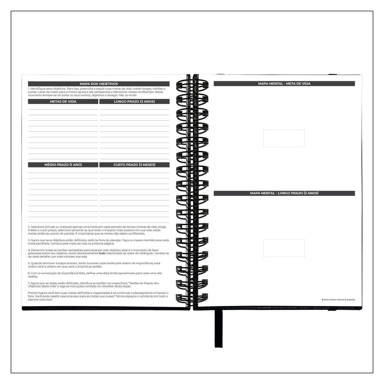 Planner Semanal 2020-2021 MyPlan - Executivo