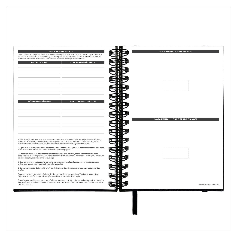 Planner Semanal 2021 MyPlan - Business