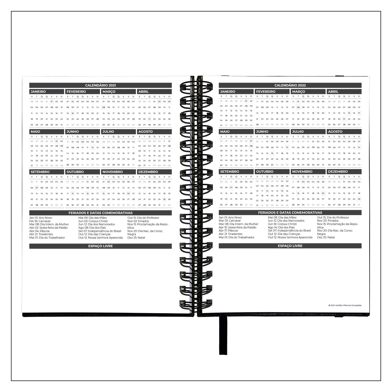Planner Semanal 2021 MyPlan - Caminhos