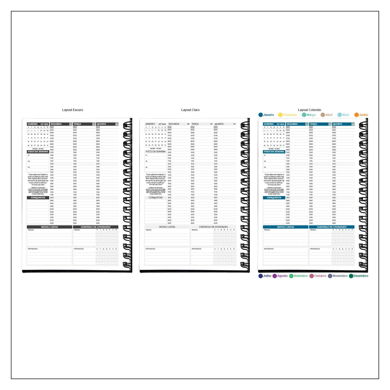 Planner Semanal 2021 MyPlan - Cubismo