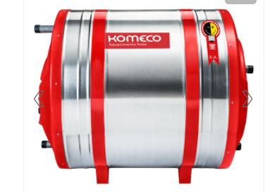 Aquecedor Solar - Boiler Alta Pressão 400L Inox 304
