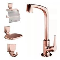 Kit Para Banheiro com Torneira e Acessórios 2004 F71