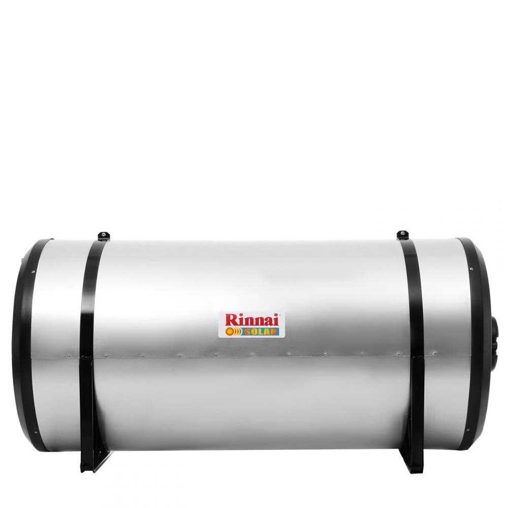 Aquecedor Solar - Boiler Horizontal Alta Pressão 300L Aço AISI304  (40 m.c.a)