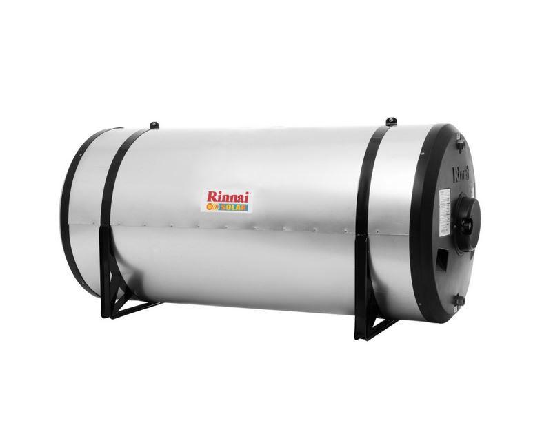 Aquecedor Solar - Boiler Horizontal Baixa Pressão 400L Aço Inox 444 (5 m.c.a.)