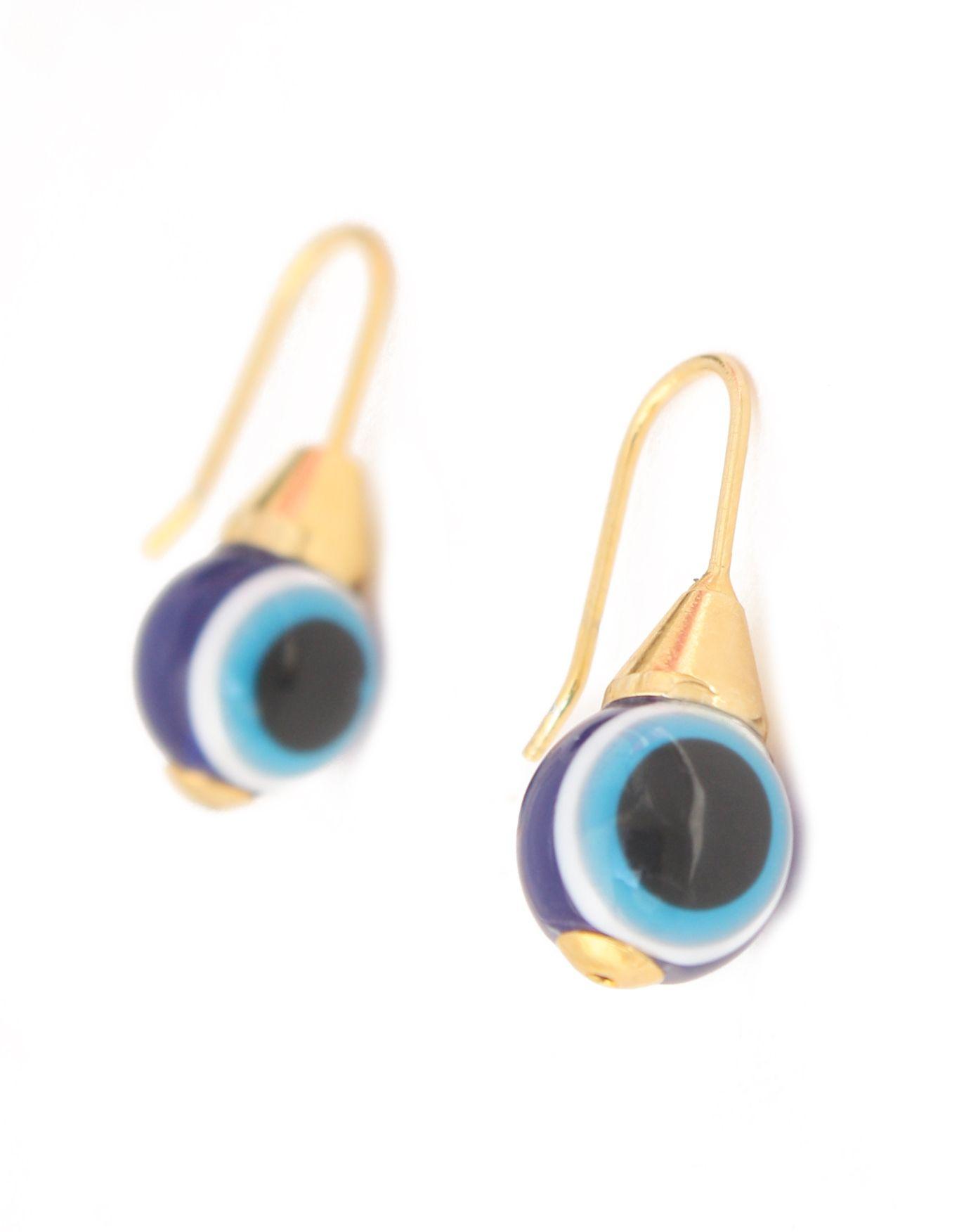 AR23.3 Olho Grego - Brinco em Palha de Buriti