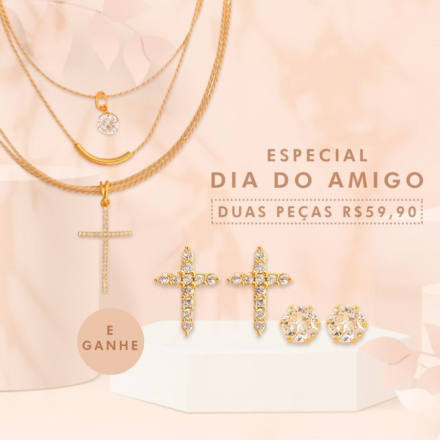 KIT 361- KIT ZIRCONIA DIA DO AMIGO
