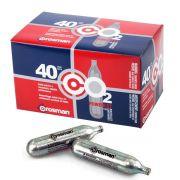 Caixa de Cilindros de Co2 Crosman 12g - 40 unidades