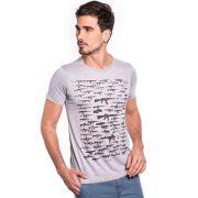 Camiseta Armas - Cinza