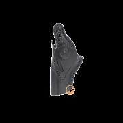 Coldre Ostensivo Dupla Posição Preto Audaz para Revólver Taurus RT627