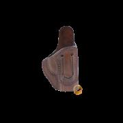 Coldre Velado Clip em Aço Marrom Audaz para Pistola Taurus TH