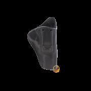 Coldre Velado Clip em Aço Preto Audaz para Revólver Taurus RT627
