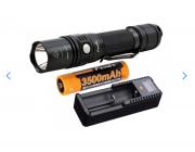 Lanterna Fenix Pd35 Tac + Carregador ARE-D1 + Bateria 3500mah