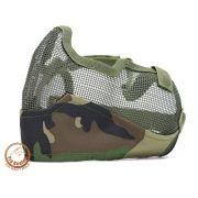 Máscara TMC - Proteção Para Airsoft - Wood
