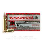 Munição .17 HMR Winchester Super X 50und.