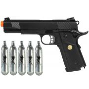 Pistola GBB Double Bell - Colt 1911 728 - Full Metal