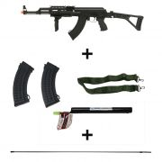 Rifle Airsoft AK47 Tactical Kalashnikov -Cybergun