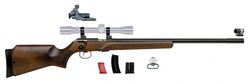 Rifle Anschutz - 64 MP R Multi Purpose Calibre 22