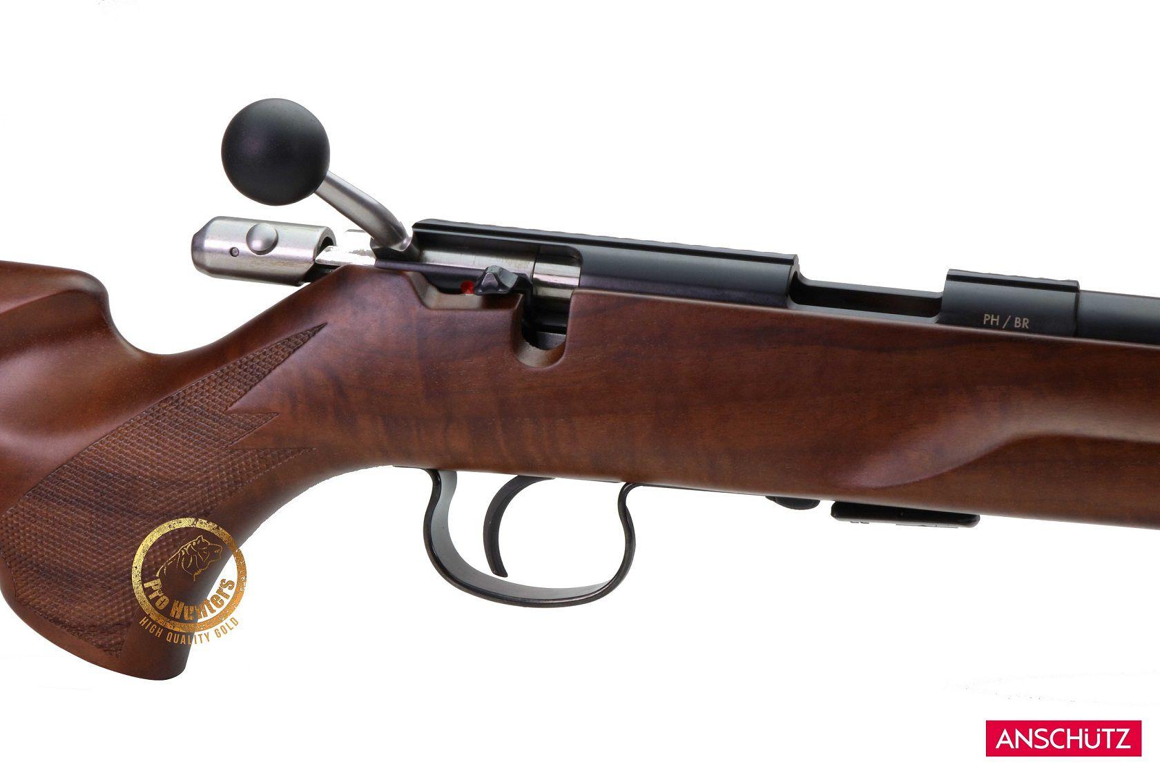 Rifle Anschutz 1416 D HB Beavertail - Calibre .22 LR