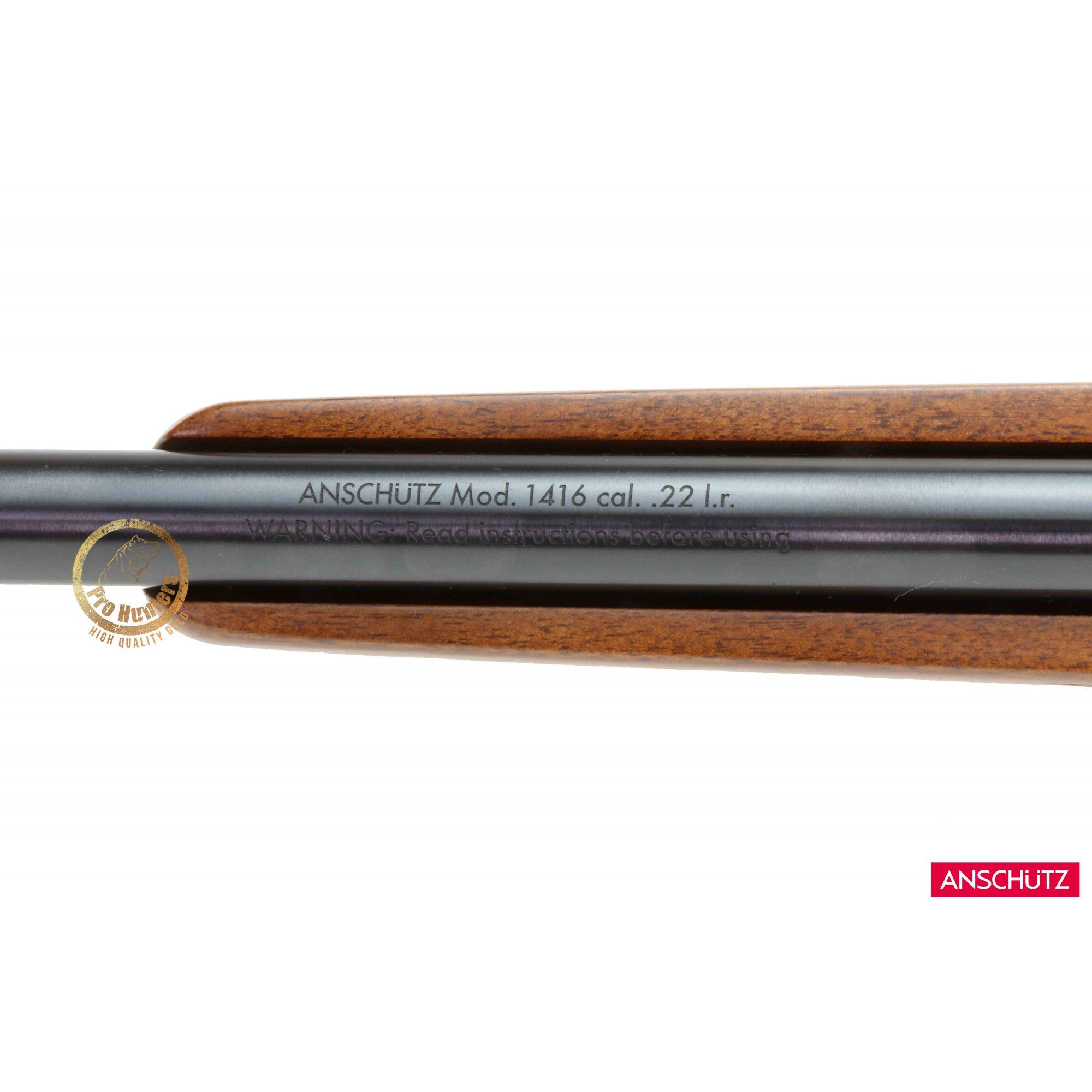 Anschutz - 1416 D HB Classic - Calibre .22 LR