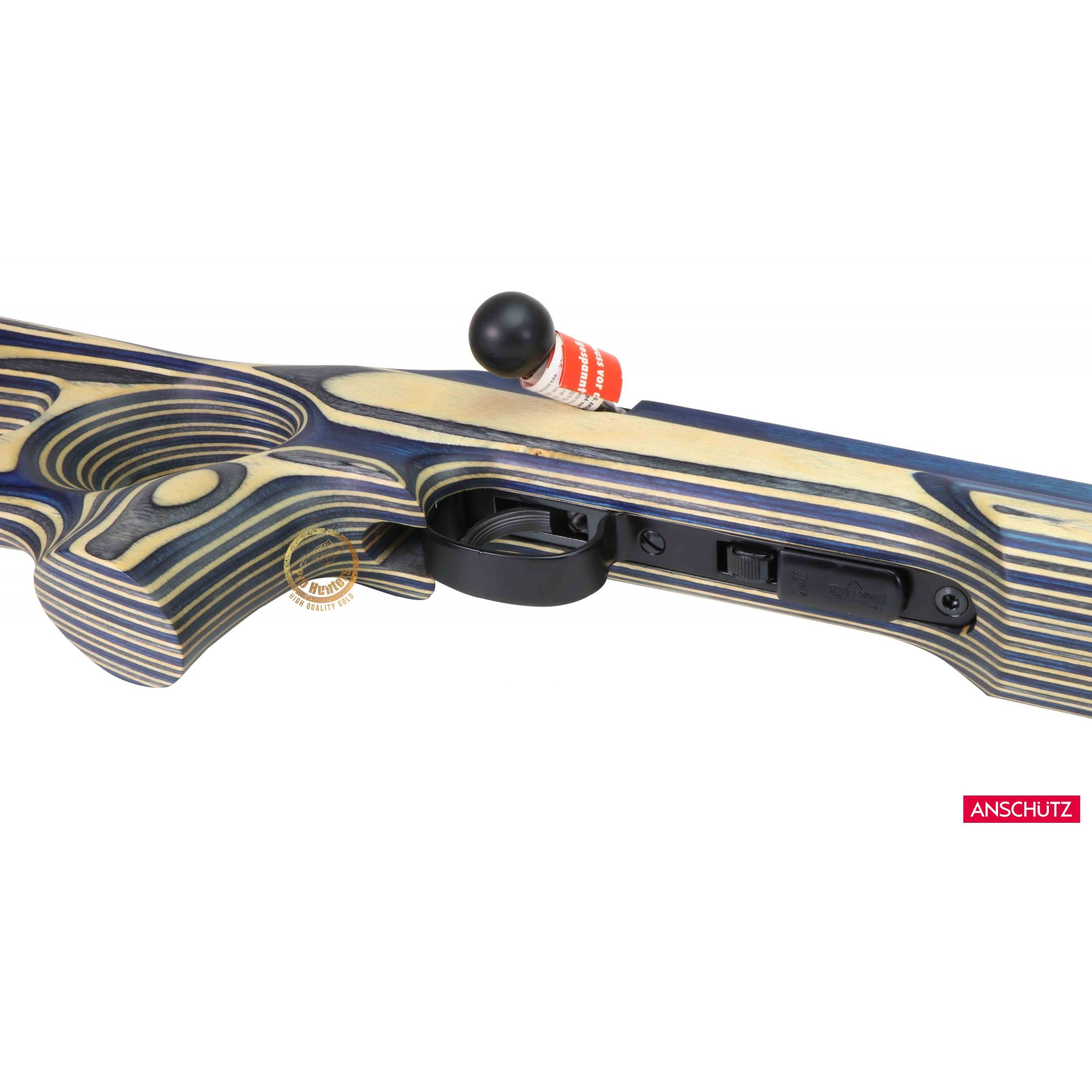 Anschutz - 1416 D HB SH COLOR Thumbhole Stock - Calibre .22 LR  - Venda Exclusiva Para CAC