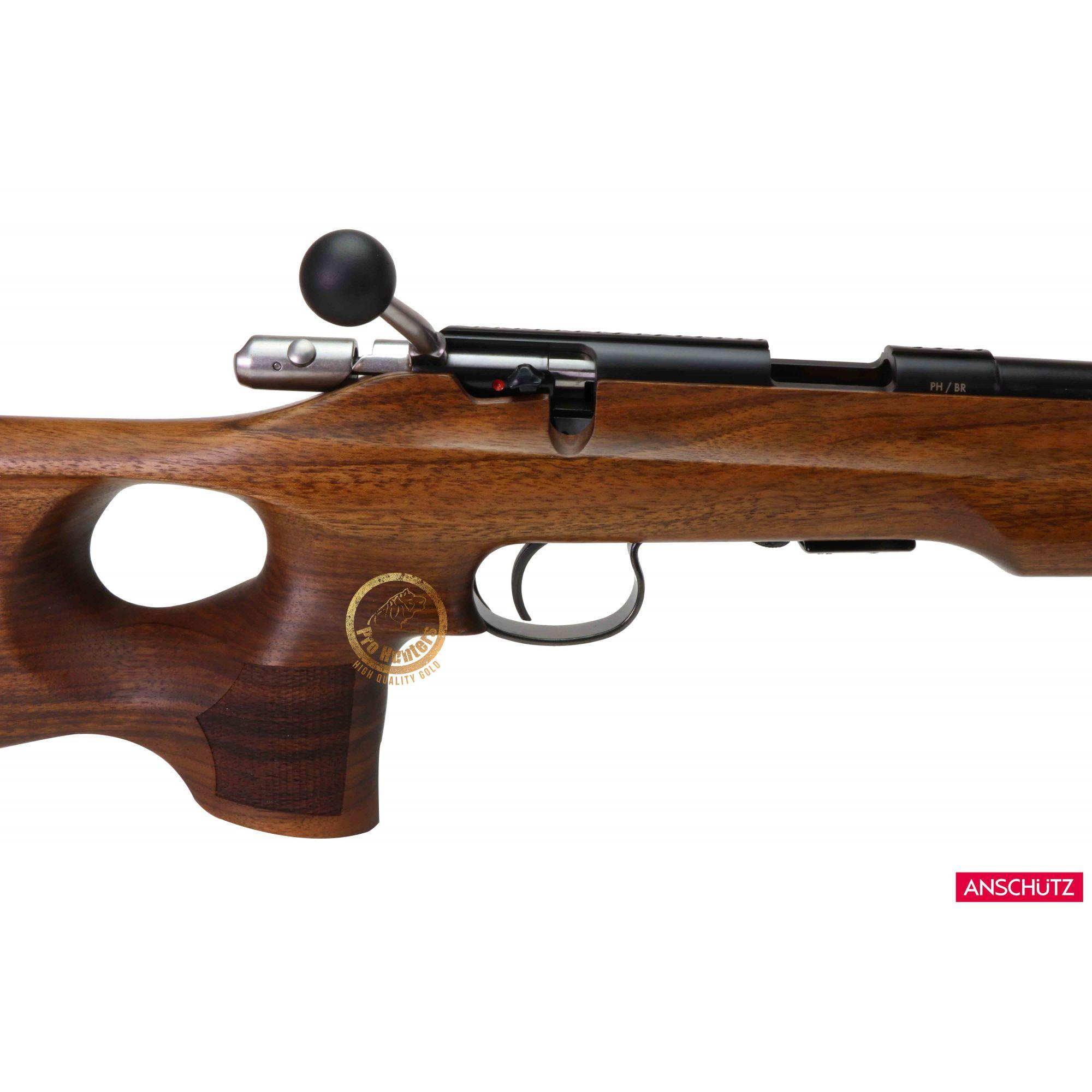 Rifle Anschutz 1416 D HB Thumbhole Stock - 18 Polegadas - Calibre .22 LR