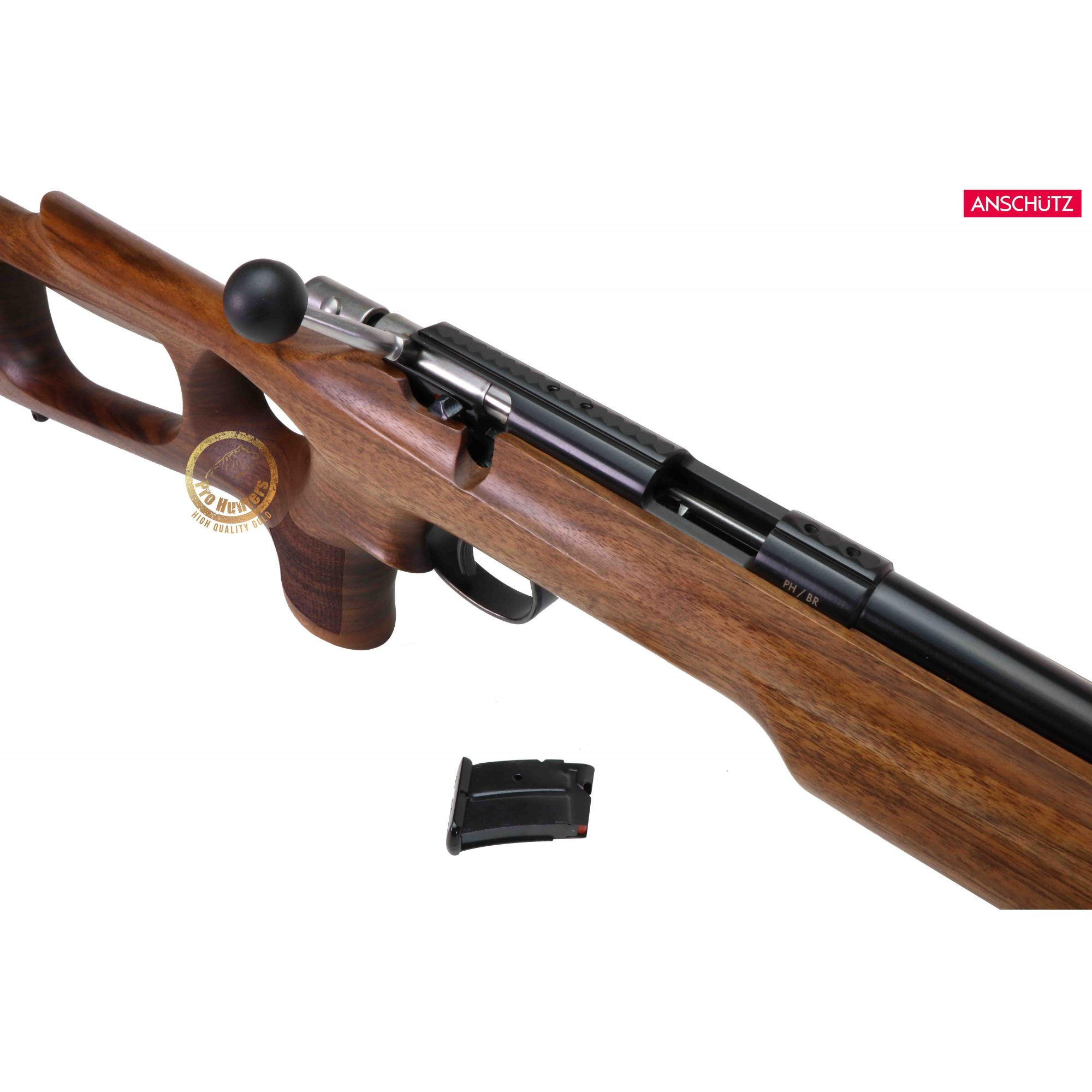 Anschutz - 1416 D HB Thumbhole Stock - Calibre .22 LR  - Venda Exclusiva Para CAC