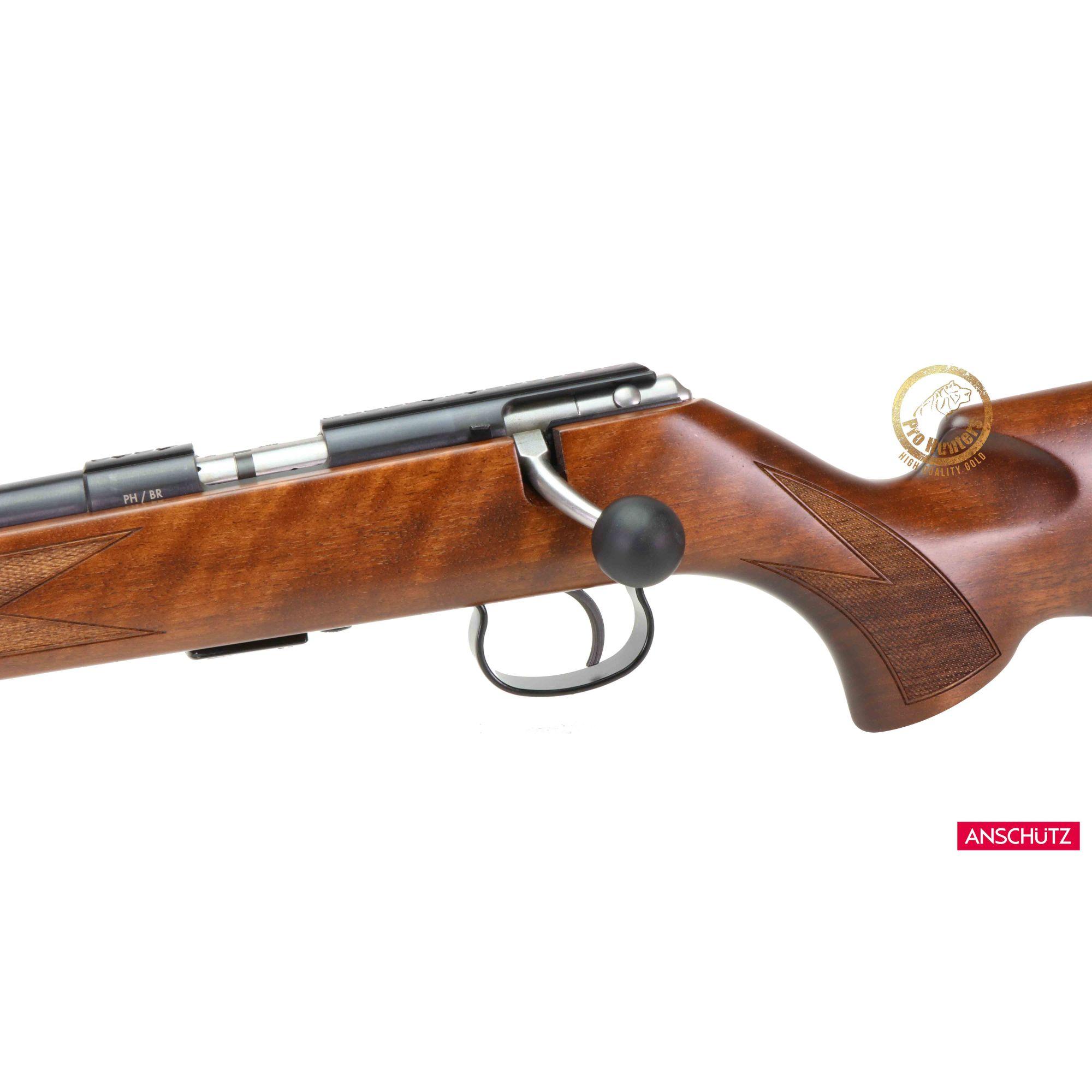 Rifle Anschutz 1416L (canhoto) D HB G Classic - 18 Polegadas - Calibre .22 LR