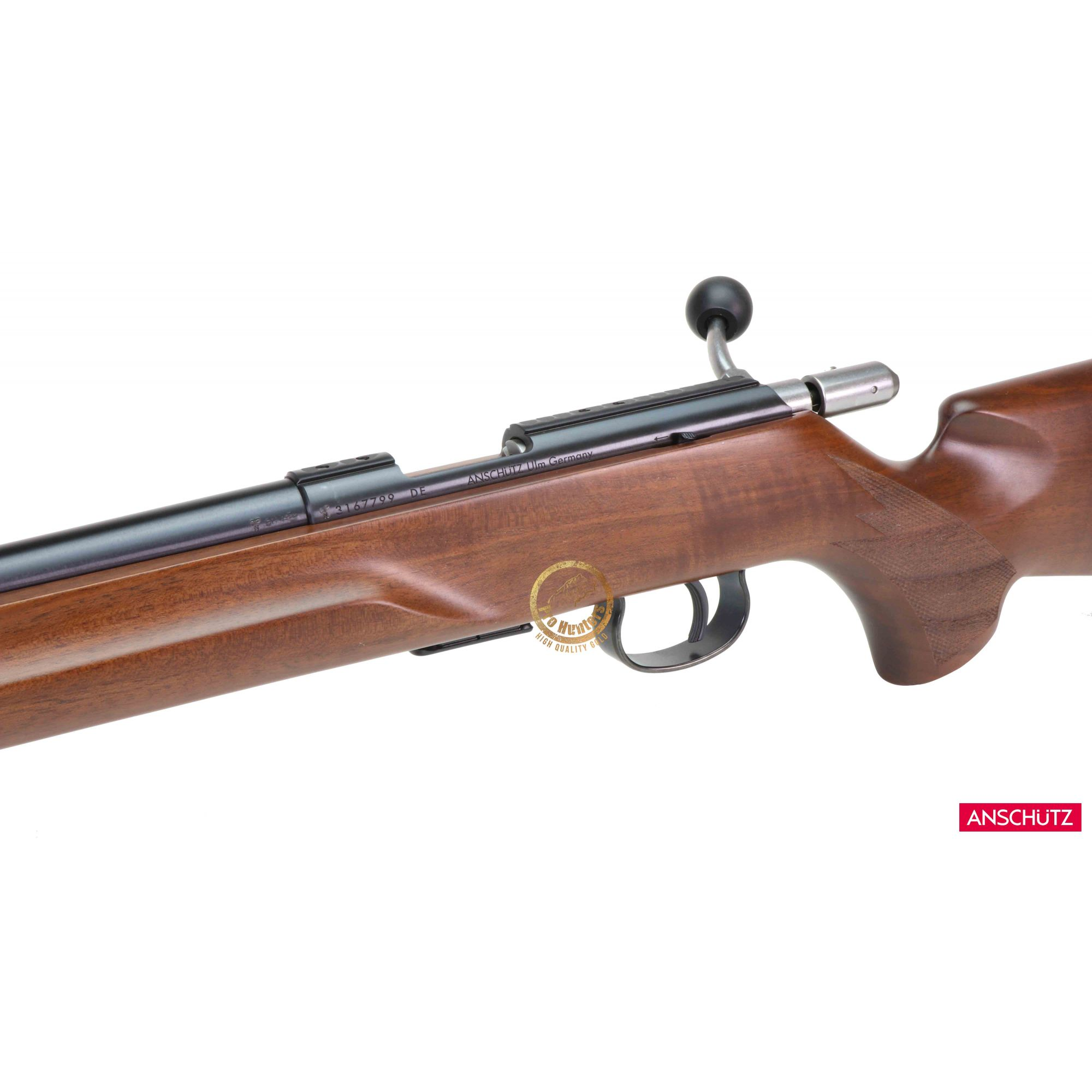 Anschutz - 1517 D HB Beavertail - Calibre .17 HMR  - Venda Exclusiva Para CAC