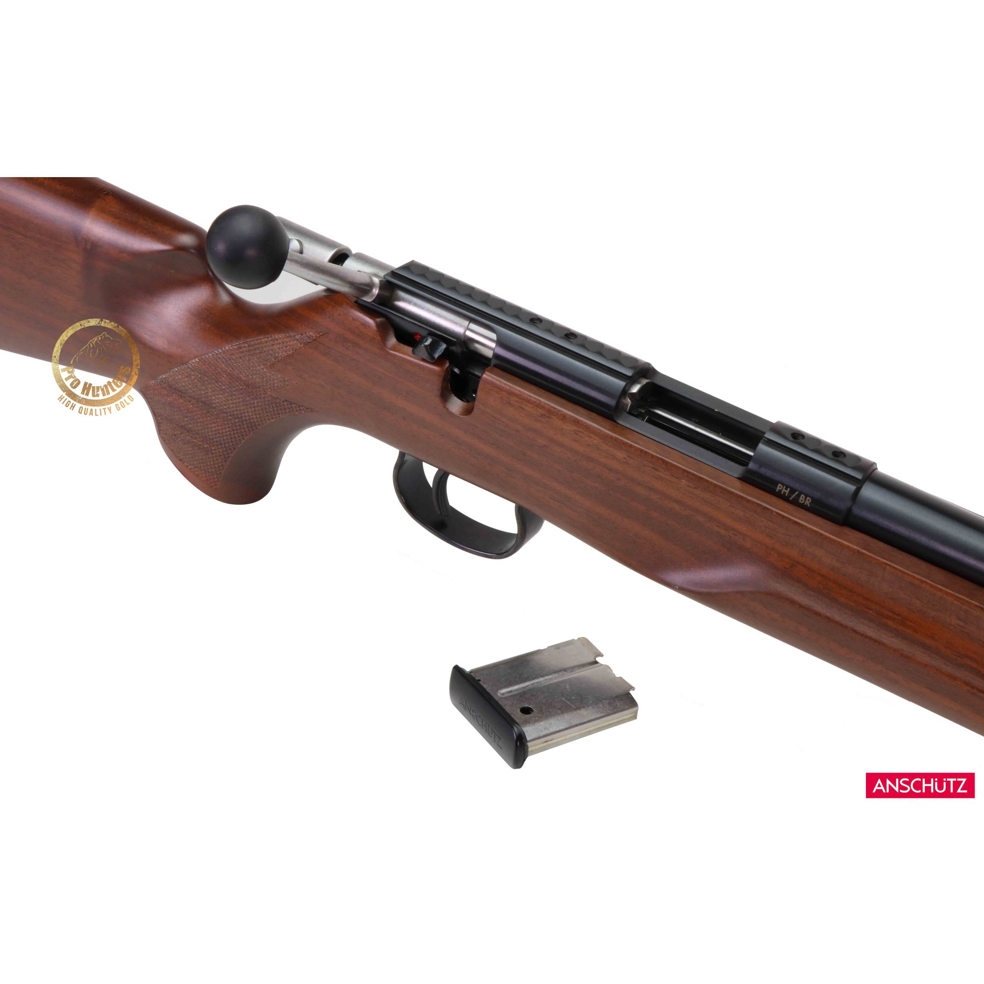 Rifle Anschutz 1517 D HB Beavertail - Calibre .17 HMR