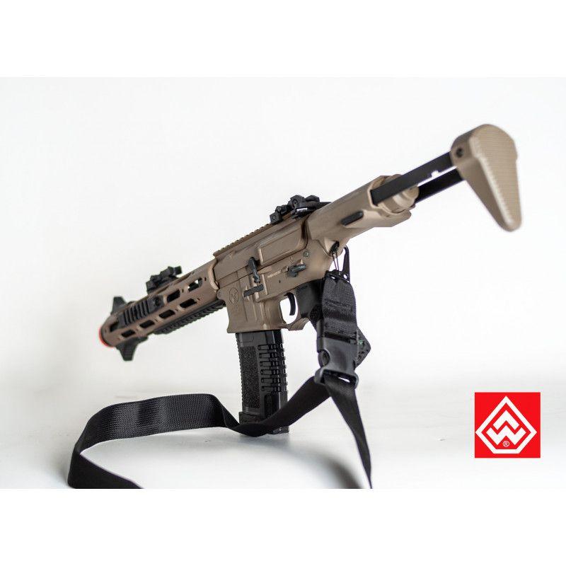 Bandoleira 1 Ponta C/Engate Rápido 40mm - Black