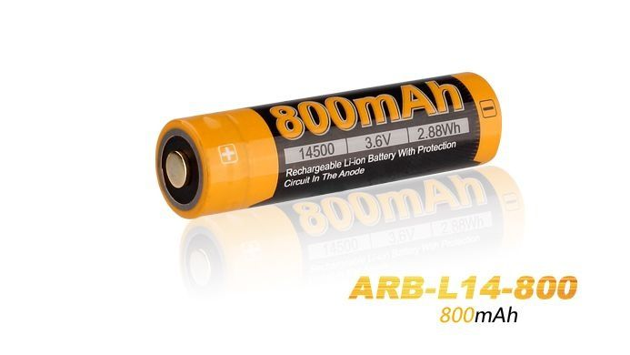 Bateria Fenix 14500 - 800 mAh