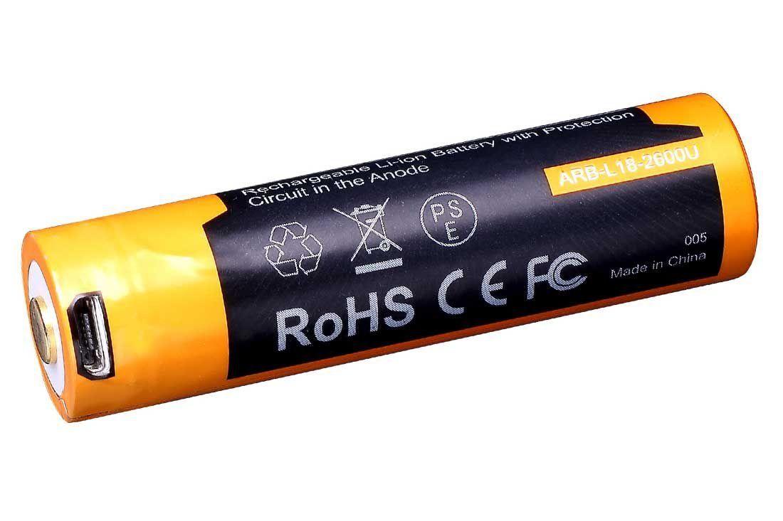 Bateria Fenix -18650 2600U mAh L18 USB