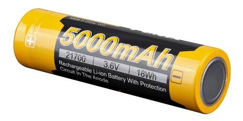Bateria Fenix 21700 - 5000 mAh