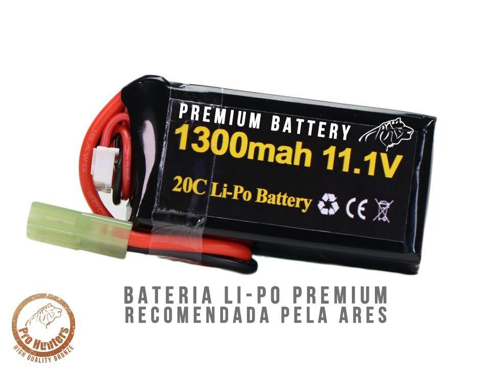 Bateria Para Airsoft -20C- 1 Pack - 1300mAh - 11.1V