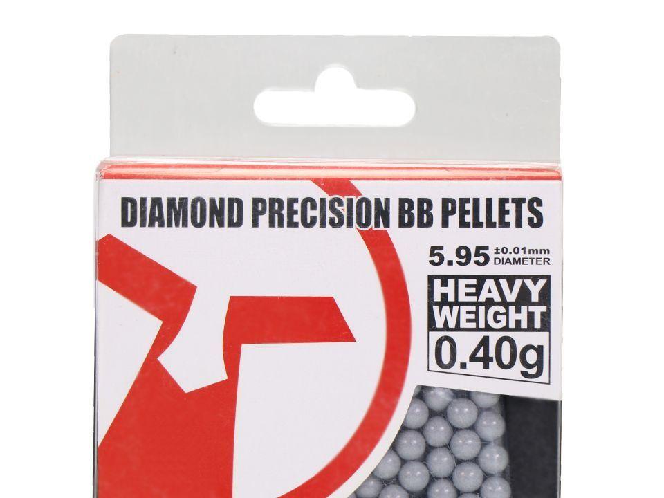BBS 0.40g Ares -Diamond Precision - 1250 BBs