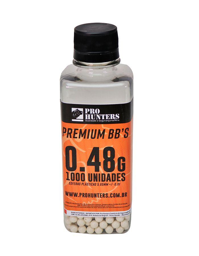 BBs 0.48g Pro Hunters - 1000 unidades