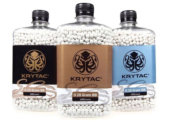 Bbs Krytac 0,25g Branca - 4000 unidades