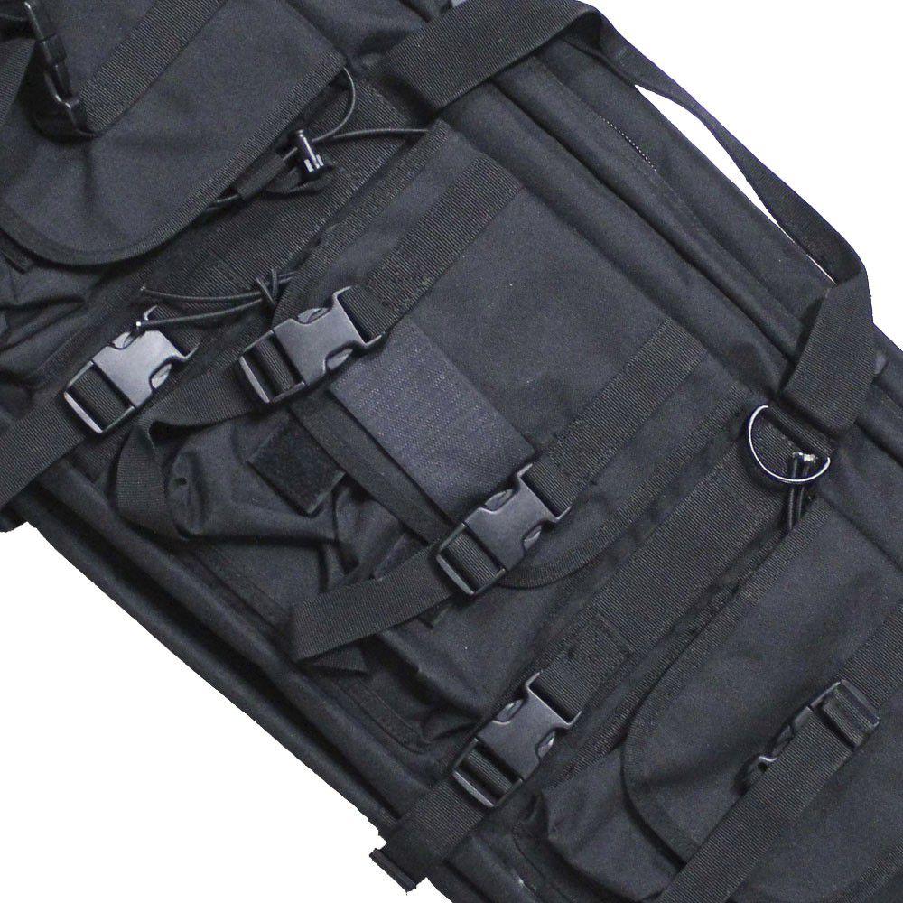 Bolsa Enigma para Rifle Tática NTK - Preto