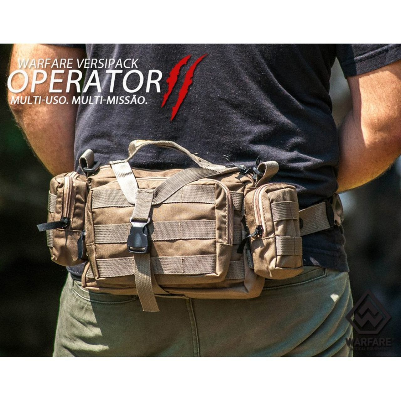Bolsa Warfare Operator II Desert U