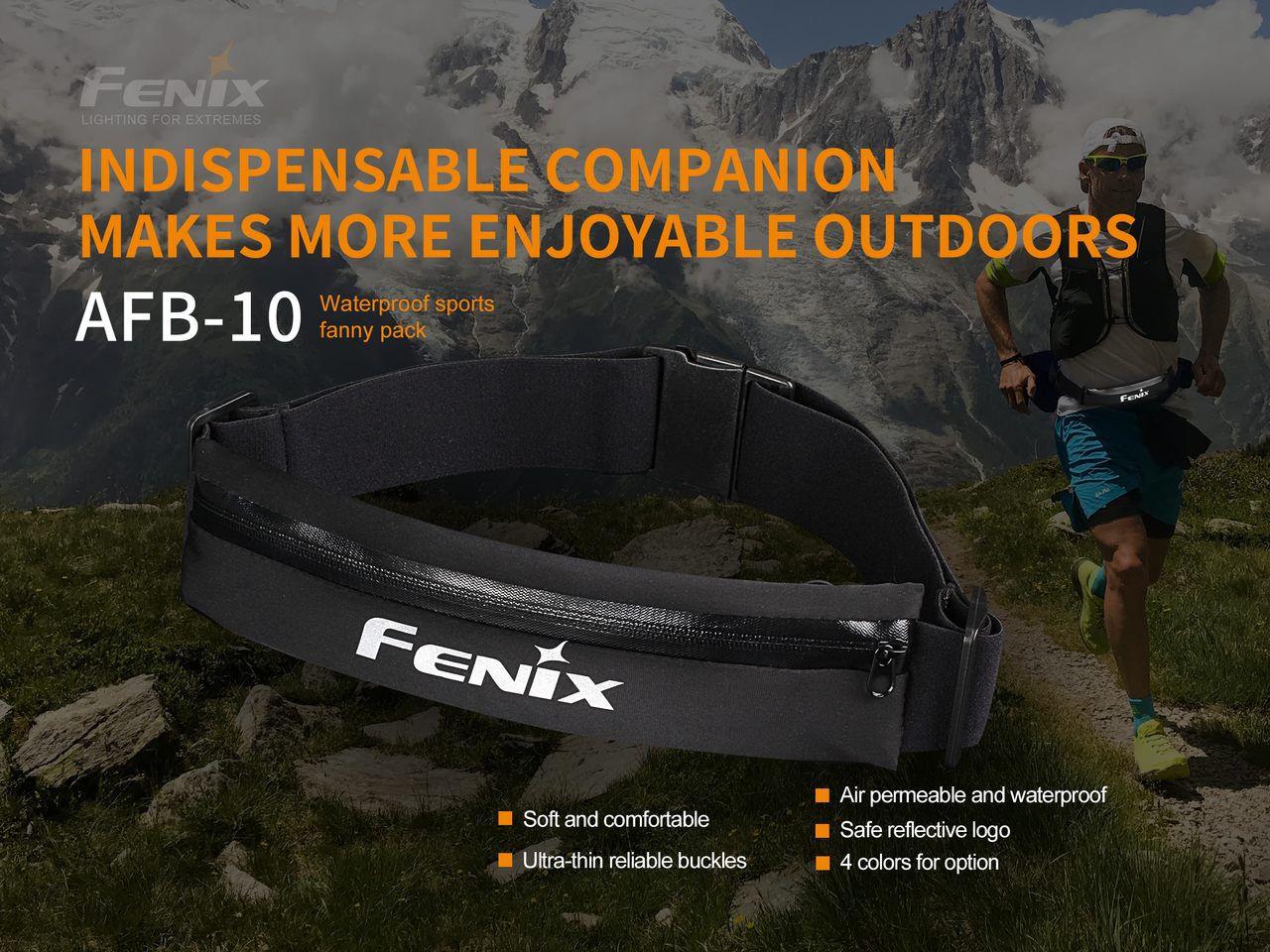 Bolsa para Cintura Impermeável Fenix AFB-10 - Azul
