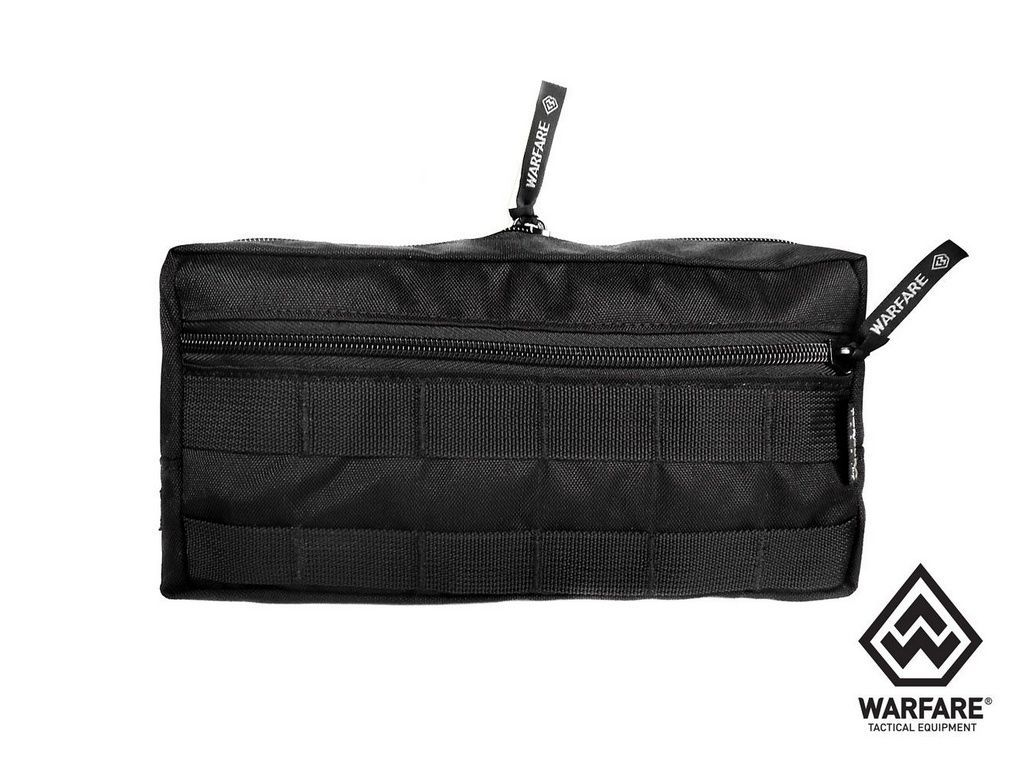 Bolso Horizontal Warfare - Com 2 Ziper - Black