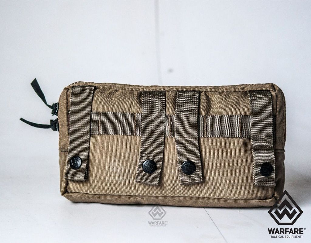 Bolso Horizontal Warfare- Com 2 Zíper - Coyote