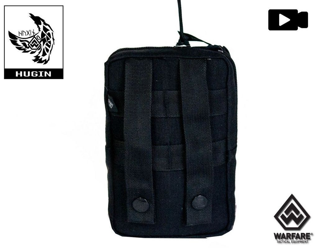 Bolso Warfare Hugin Preto