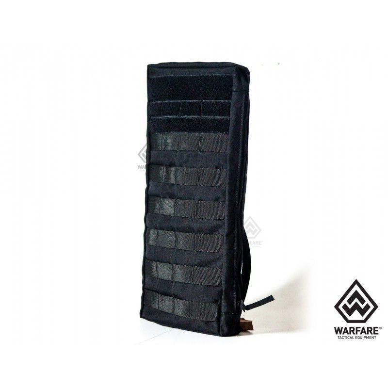 Bolso Warfare Porta Sistema De Hidratação - Black