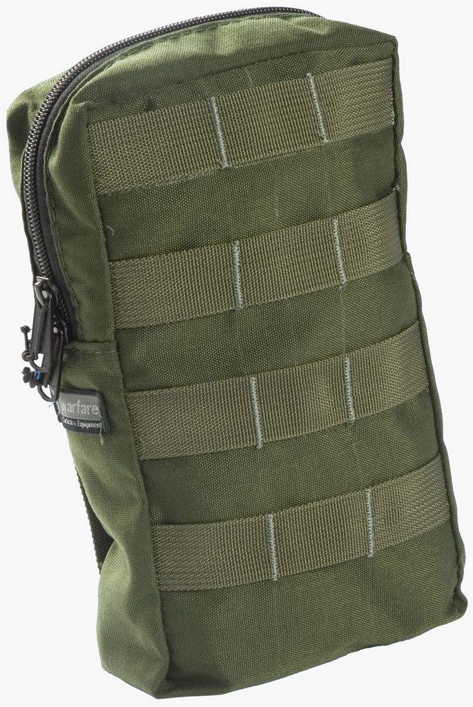Bolso Vertical Warfare - Com 2 Zíper - Verde